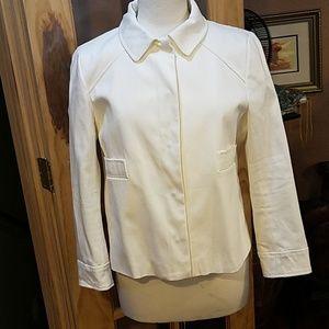 White chic jacket